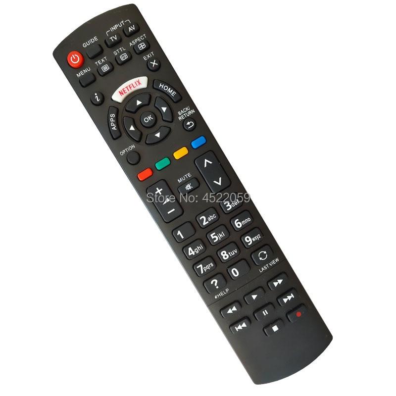 Genuine Panasonic N2QAYB00113 Universal Remote Control For Smart Netflix LED TVs
