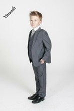 Boys Suits 3 pcs Boys Wedding Suits  Page Boy Suits Grey Black 2 to 12 sitemap html page 10 page 3 page 2 page 6