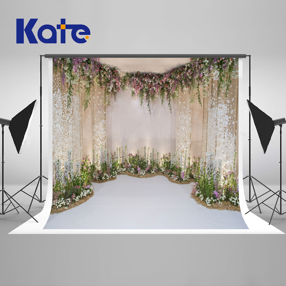 Kate 10x10ft Wedding Photography Backdrops Flowers Backgrounds Photo Studio For Wedding Party Stage Photographic Background fornarina блузка