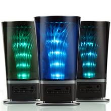 LED Bluetooth Динамик Беспроводной стерео звук коробка бас MP3 плеер сабвуфер Колонки с мигалками