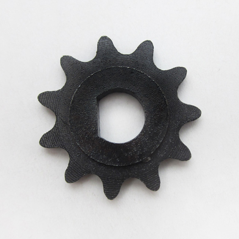11 Tooth Sprocket Motor Pinion Gear D-type Hole fit 25H Chain Electric Scooter