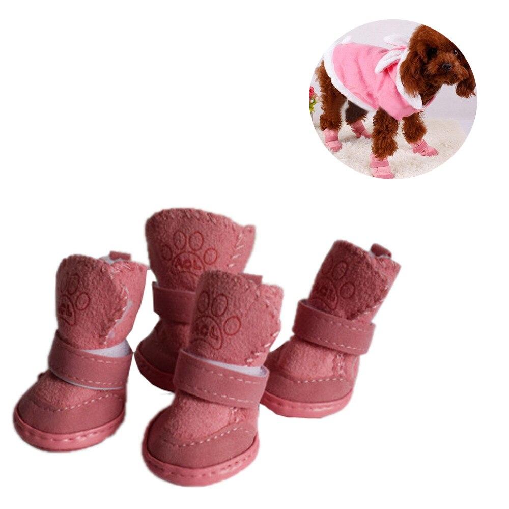 Beliebte Marke Pink 2017 Winter Kinder Baumwolle Erwärmung Schneeschuhe Nicht Weiche Sohle Booties Mode Mädchen Schuhe Kinder Baby Booties Botas Babyschuhe Mutter & Kinder