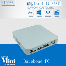 X86 Computing Cheap Mini PC Windows 7 Mini Nuc Smart PC Intel Core i7 3537U 2GHz BAREBONE 300M Wifi