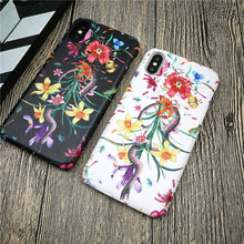 Italy Luxury brand GG case for iphone X XS MAX XR 8 7 6 6S plus plastic phone cover hard leather snake flower funda coque 8plus