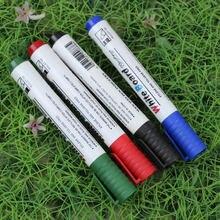 10 шт./лот офисные школьные принадлежности 4 цвета черный красный альтернатива стираемый маркер для белой доски ручка papelaria
