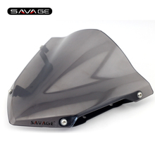 Motorcycle Windshield Windscreen Pare-brise Smoke For YAMAHA MT09 MT-09 FZ-09 2014- 205 2016