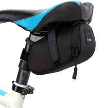Bicycle Bag Bike Mountain Bike Saddle Bags Seat Cycling Tail Rear Pannier Pouch Waterproof Mini Seatpost Bag Outdoor 3 Color цена 2017