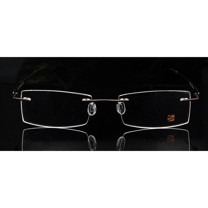 Sorbern Marke Neue Randlos Reinem Titan Brillengestelle für Männer ...