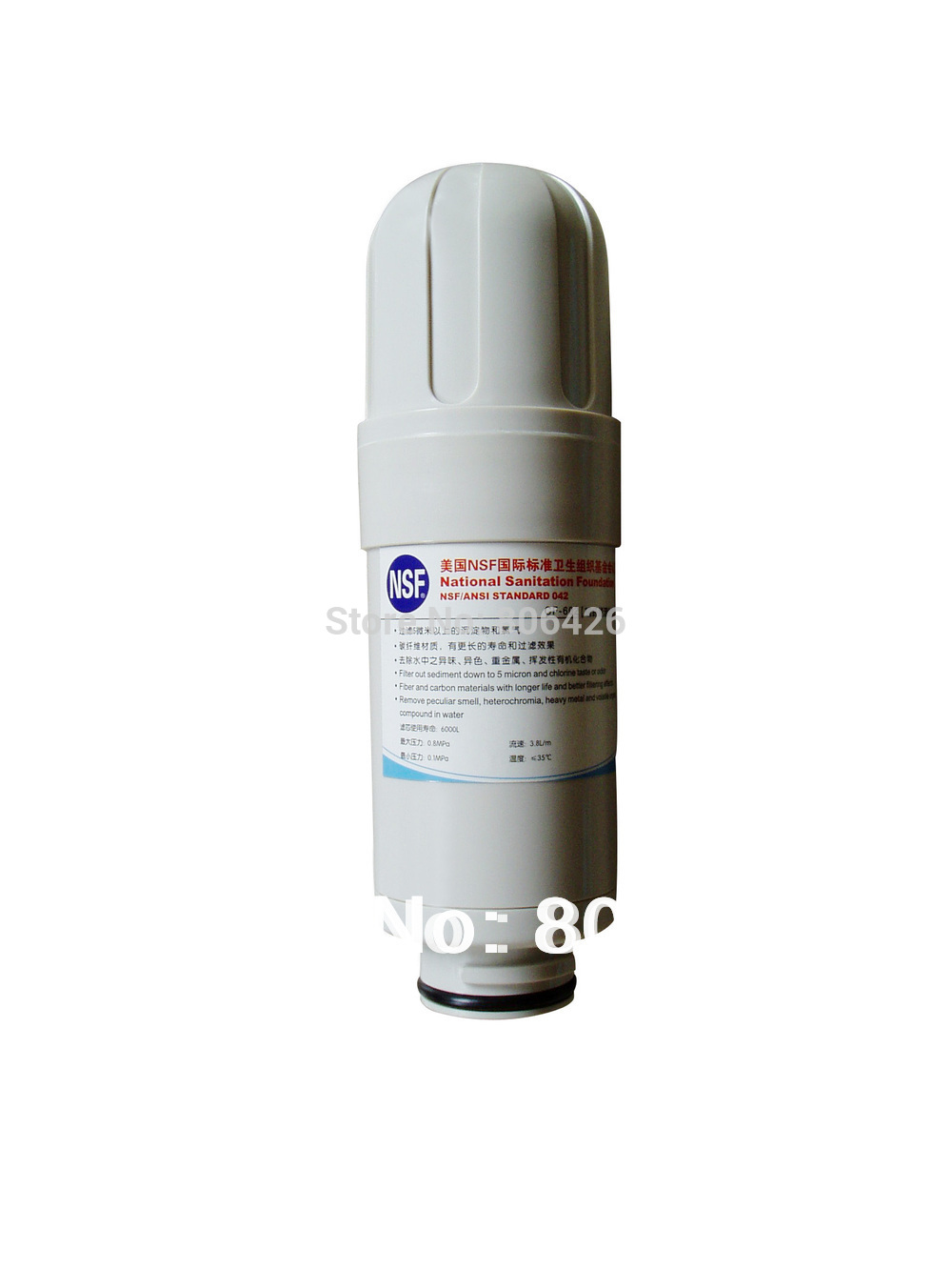 Alkaline water ionizer built in Filter replacement NSF standard for water ionizer QWI 005 007 011