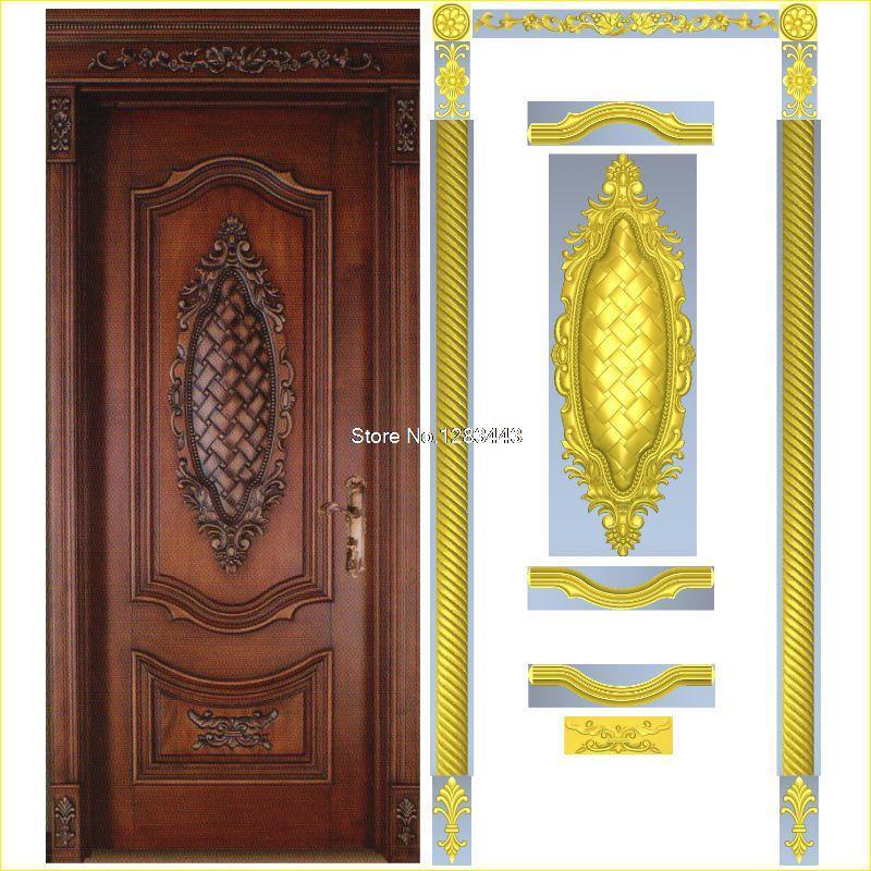 10pcs/lot Door_6 3D STL Format Furniture Decoration 3D Model STL Relief For Cnc STL Format Furniture
