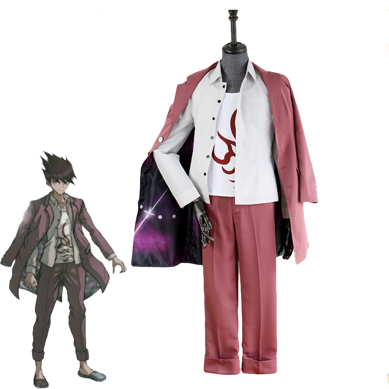 Japanese Game Danganronpa V3 Momota Kaito Cosplay Costume Unisex College Astronaut Suit Halloween Carnival Uniforms Custom Made