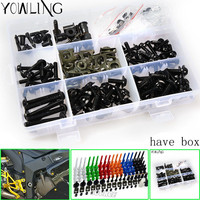 Hot Selling 3 Colors Optional Motorcycle Screws Pike Bolts Motorcycle Accessories Windscreen Screws Fit For FOR