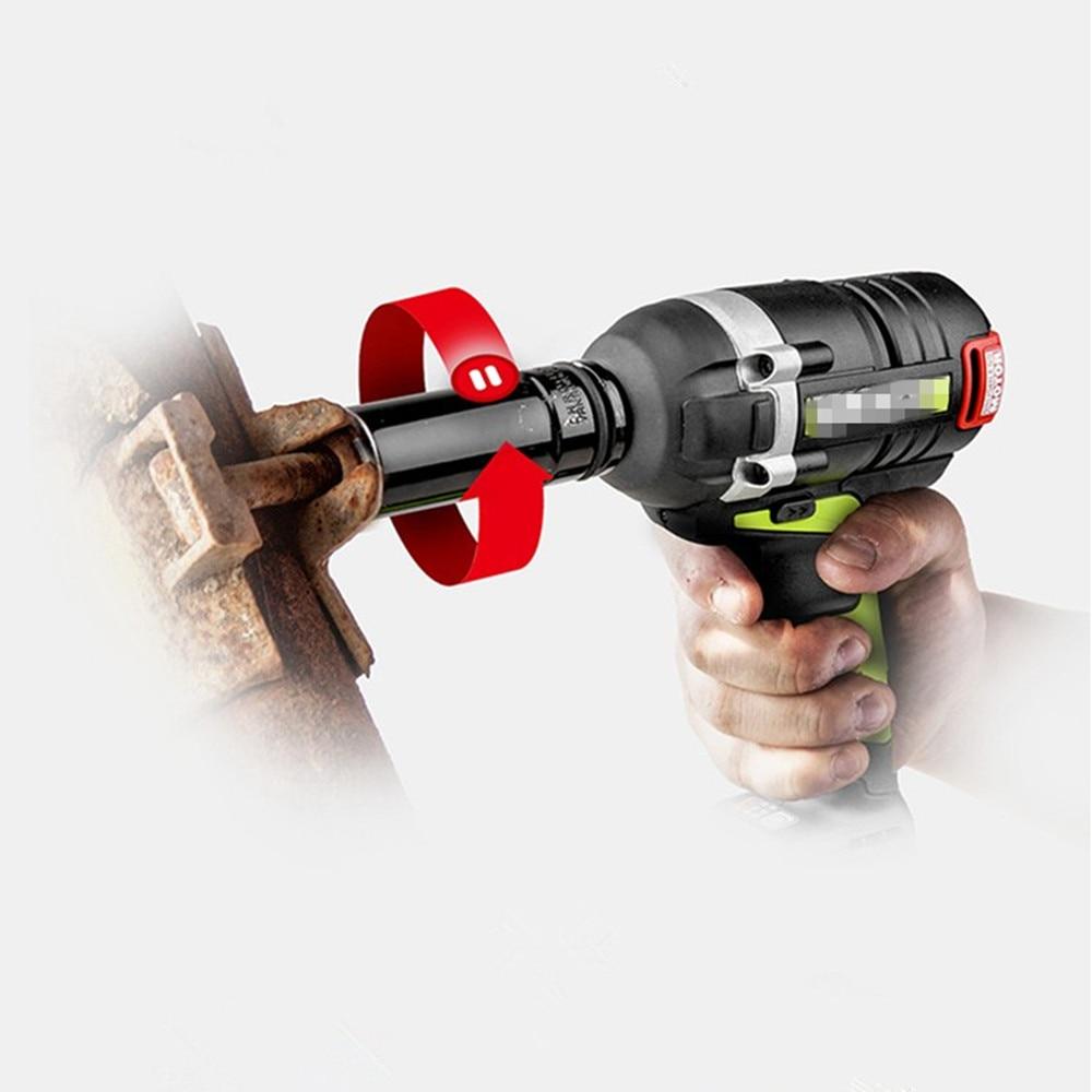 """Купить с кэшбэком HUAFENG BIG ARROW 1/2""""DR.Impact Deep Socket 6 Point Axle Nut Socket 78mm CR-MO 8mm 9mm 10mm 11mm 12mm 13mm 14mm 15mm to 32mm"""