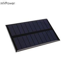 MVPower 5V 1.2W Solar Panel Bank Solar Power Panel Charger DIY Home for Battery Smart Cell Phone Toys Portable 10.9×6.8×0.3cm