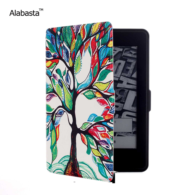 Alabasta Kindle Paperwhite 1 3 4 Case PU Skin Lighted Slim Leather Cover Fit Kindle Paperwhite 2013 2015 2016 generation 6 inch xx for amazon kindle paperwhite case cute design skin lighted slim pu leather cover for kindle paperwhite 1 2 3