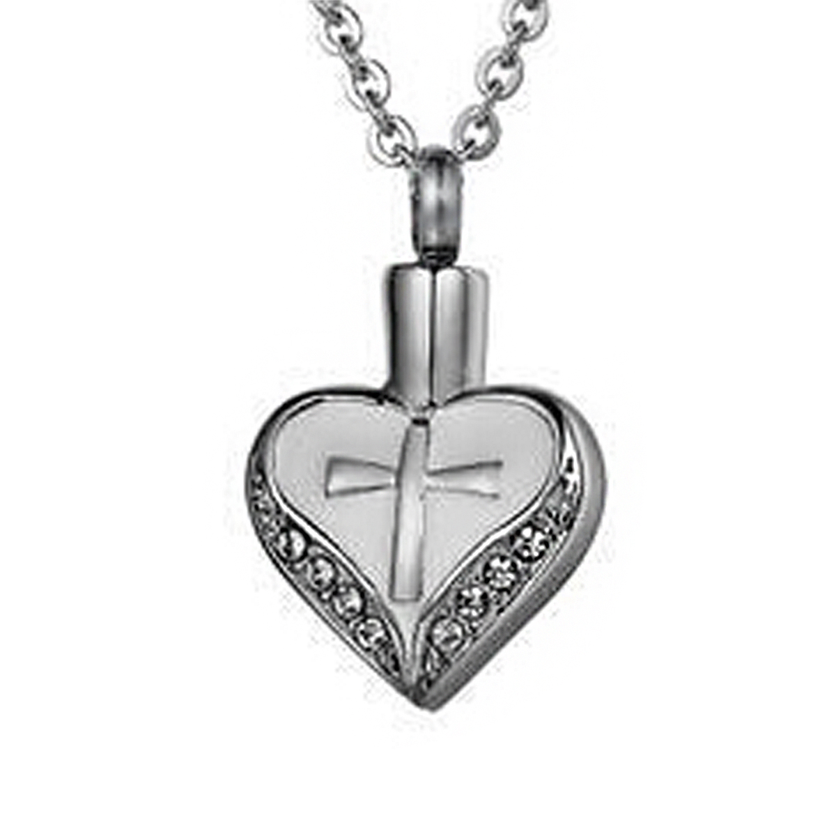 dad steel my cremation for ashes memorial gift pendant lariat irregular heart product lily in with stainless bag wholesale necklaces jewelry urn forever