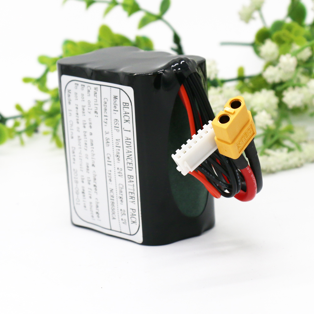 KLUOSI UAV Rechargeable Li ion Battery 22 2V 25 2V 3 5Ah 6S1P Use Single Cell NCR18650GA Combination Suitable for Various Drone in Battery Packs from Consumer Electronics