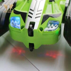 Image 5 - RC รถ Rock Crawler ม้วน 2.4G 4CH Stunt Drift Deformation รถ Buggy 360 องศาเด็กหุ่นยนต์ RC ของเล่นรถ