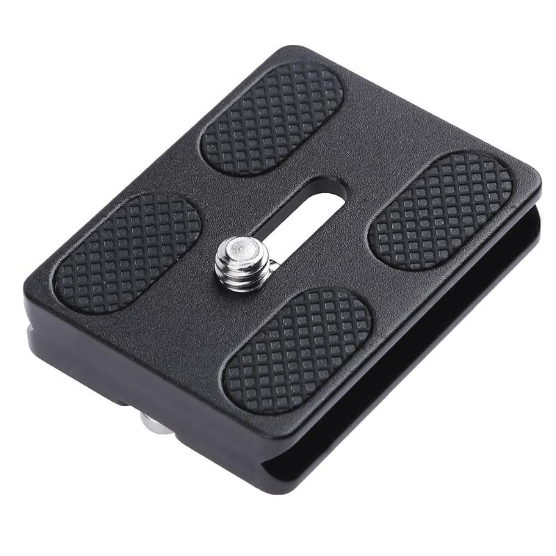 ALLOYSEED Universal PU-50 Metal Quick Release Plate Camera Tripod Adapter Mount Plate Board For Benro Arca Swiss Tripod Ballhead benro a 168 b 0 pu 50