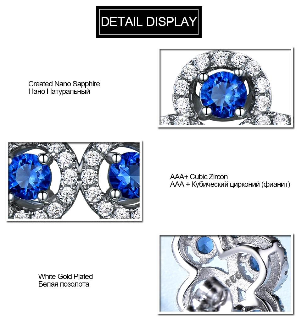 sapphire stud earrings for women fin jewelry (6)