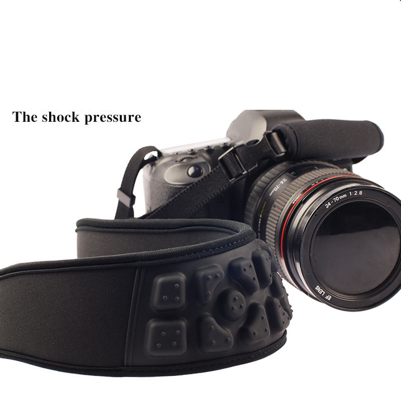Shock Pressure massage Camera Shoulder Strap Lengthened Camera Strap Neck belt For Canon Nikon Sony