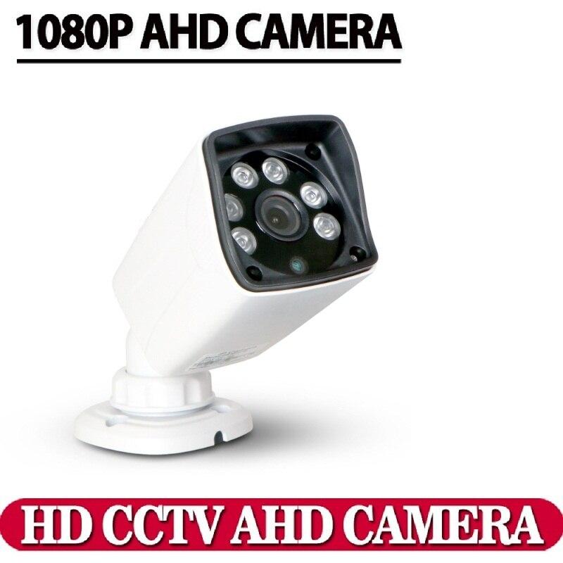 Aluminum Metal HD CCTV AHD Security camera 1080P 2.0MP CCD IMX322 Chip High waterproof Day night vision IR-Cut camera kits