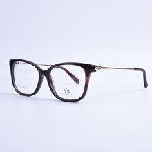 Acetato Unissex óculos de armação Vintage da Moda marca de Alta Qualidade  Full Frame Ótico Óculos Óculos Frames 8d85c5b0cb