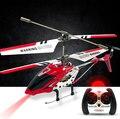Original Syma S107 S107G 3.5CH RC Helicóptero com gyro Controle de Rádio do Metal da fuselagem de liga R/C Mini Helicoptero Interior Co-Axial