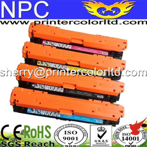 цена на New Compatible Printer Toner Cartridge CE270A CE271A CE272A CE273A 13500p/15000p for HP & Stapler gift