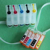 5 Colors PGI 550 CLI 551 Ink System Empty CISS For Canon IP7250 MG5400 MG5450 MG5550