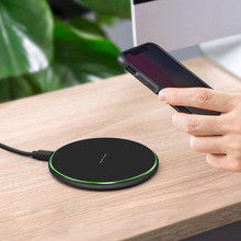 Portable 10W Qi Wireless Charger for Mobile Phone Fast Charging Pad for iPhone XS XR X 8 Samsung Galaxy S10 S9 S8 Plus Note 9 все цены