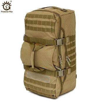 цена на Military Tactical Backpack 60L Large Capacity Outdoor Camping Sport Backpacks Men's Hiking Shoulder Bag Rucksack Travel Backpack