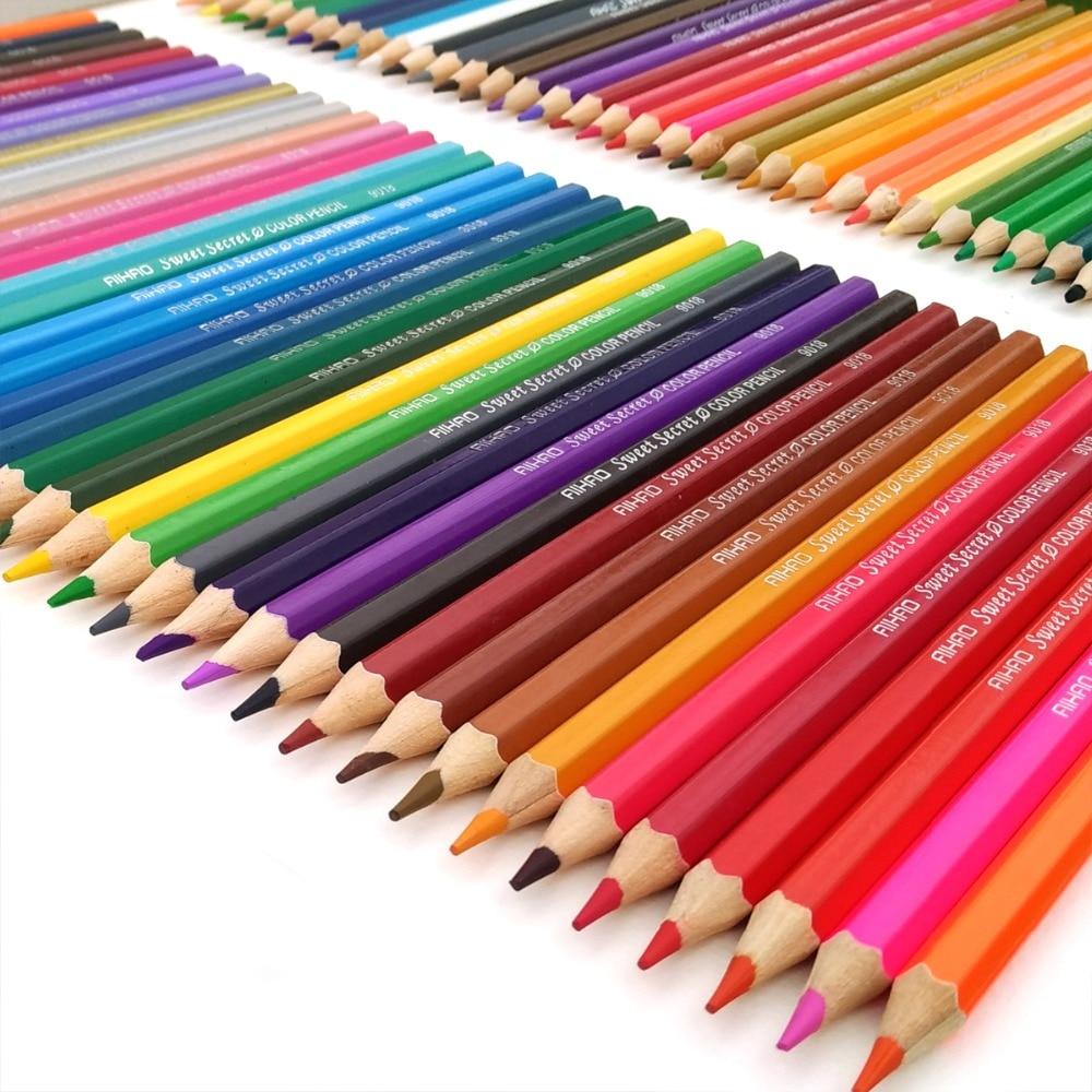 Artist Coloured Pencils lapis de cor profissional 72 Pencil Crayons Colour Pencil Set Children Color lapis Art School SuppliesArtist Coloured Pencils lapis de cor profissional 72 Pencil Crayons Colour Pencil Set Children Color lapis Art School Supplies