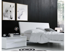 цена на animals canvas painting modern home art giant black and white pictures poster White Horse Beauty Lovers bedroom recommendation