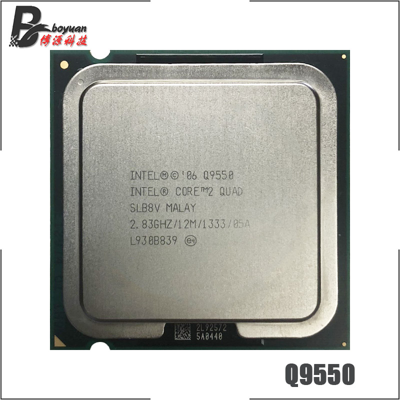 Intel Core 2 Quad Q9550 2.8 GHz Quad-Core CPU Processor 12M 95W 1333 LGA 775