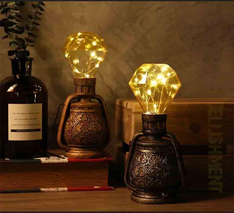 Edison Lâmpada do vintage Luz Noturna Casa