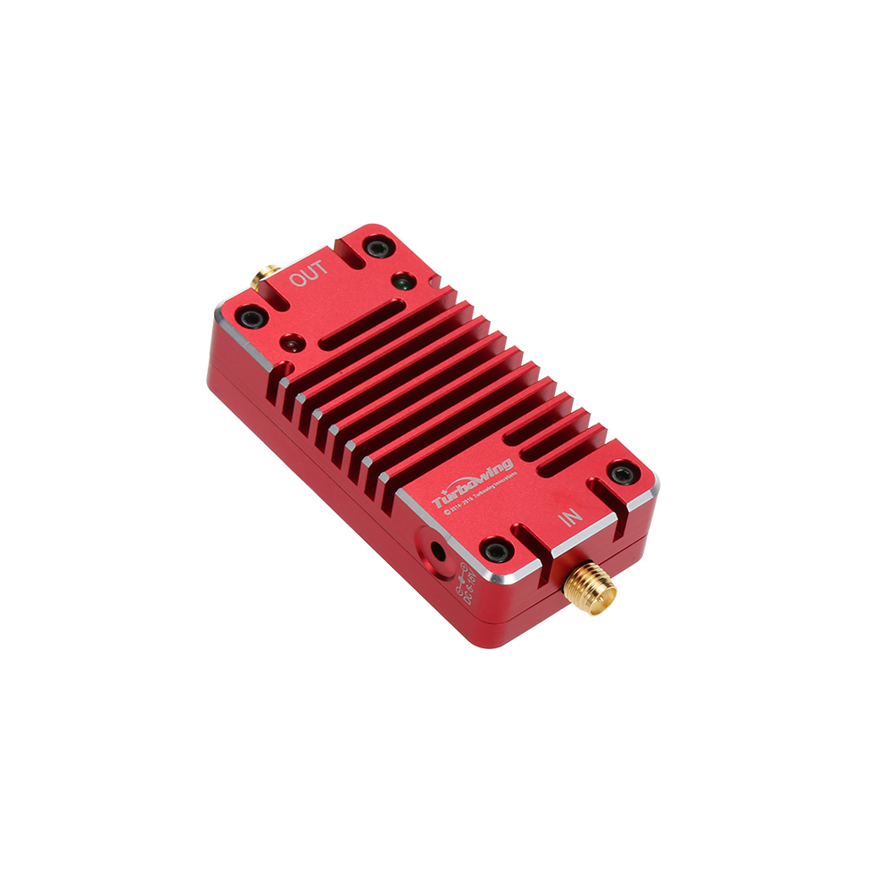 Original Turbowing RY-2.4 2.4G Radio Signal Amplifier Booster for RC FPV Drone 2.4G Receiver and Transmitter 2 4ghz 8w wlan wifi wireless broadband amplifier signal booster for rc radio extend the distance
