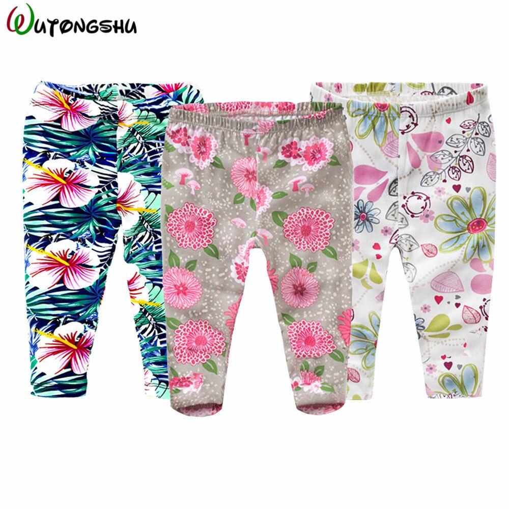 3Pcs/Lot Baby Pants Newborn Girls Boys Leggings Autumn Winter 100% Cotton Baby Girls Trousers Clothes Roupa Infantil Clothing