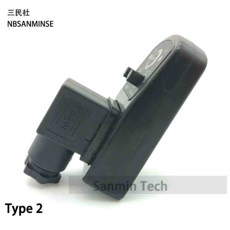 DSQ Pneumatische Compressor Air Magneetventiel Connectoren Elektronische Timer Hoge Quility Sanmin Valve Timer