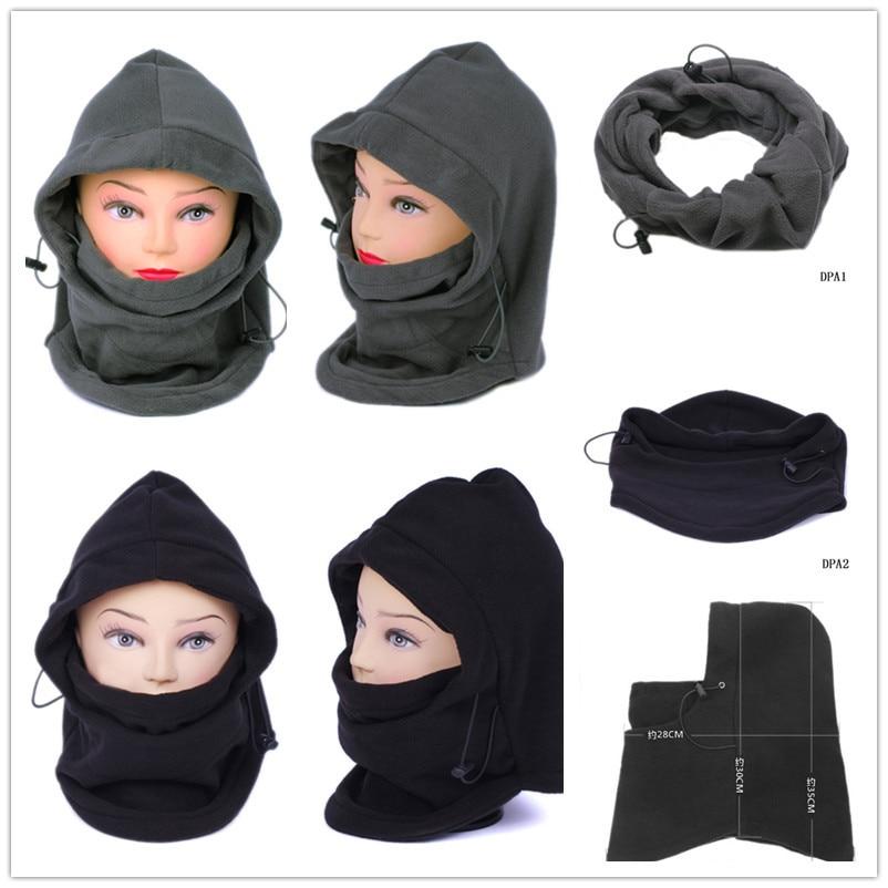 Black/Grey Pro Soft Thermal Fleece Balaclava Hood Police Bike Wind Face Cap Swat Stopper Mask clearance aquapulse 4122b grey black