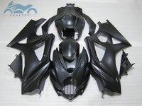 High grade Fairing set for SUZUKI 2007 2008 GSXR 1000 K7 ABS plastic motorcycle fairings kit GSX R1000 07 08 matte black parts