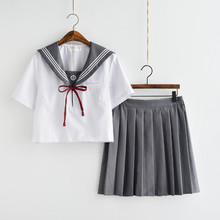 High school students uniforms Japan JK uniform embroidery sailor suit female class service college wind student