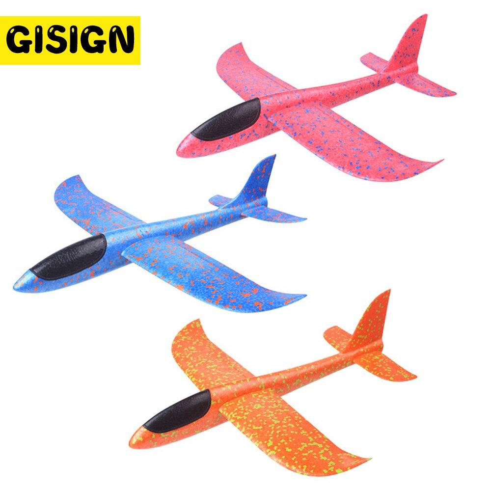 EPP бросали Glider пены самолет открытый Старт литья под давлением летающие модели планеры мальчиков Игрушки для детей