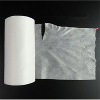 3 Rolls/Pack High-grade White Disposable Facial Tissue Cotton Disposable Face   Towel   Break Point Non-Woven Fabric Roll   Towels