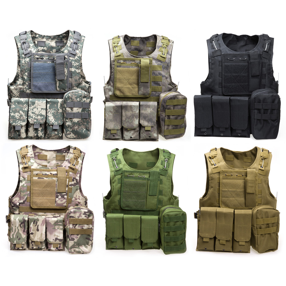 LumiParty Colors Molle Ciras Colete Tatico 5xl tactical vest Camouflage Hunting swat vest Armor Hunting Equipment tactical Vest