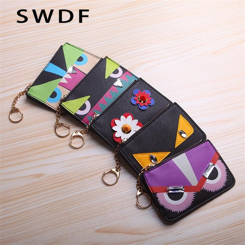 SWDF New Cow Leather Women Wallets Coin Purse Anime Cartoon Wallet Men Womens Wallets Gift Boy And Girl Purse With Coin PocketSWDF New Cow Leather Women Wallets Coin Purse Anime Cartoon Wallet Men Womens Wallets Gift Boy And Girl Purse With Coin Pocket
