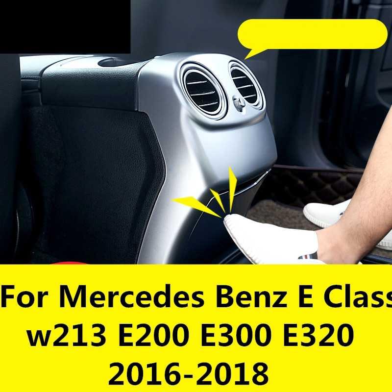 Dành Cho Xe Mercedes Benz Lớp E W213 E200 E300 E320 2016-2018 Sau Ô Tô Điều Hòa Không Khí Thông Hơi Khung Tranh Trang Trí Không Khí Ổ Cắm Viền Dây