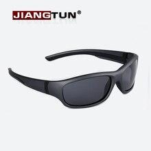 Бренд JIANGTUN, супер-светильник, Детские поляризованные солнцезащитные очки, детские спортивные солнцезащитные очки, защита от уф400 лучей, уличная безопасность, резина, JT3418