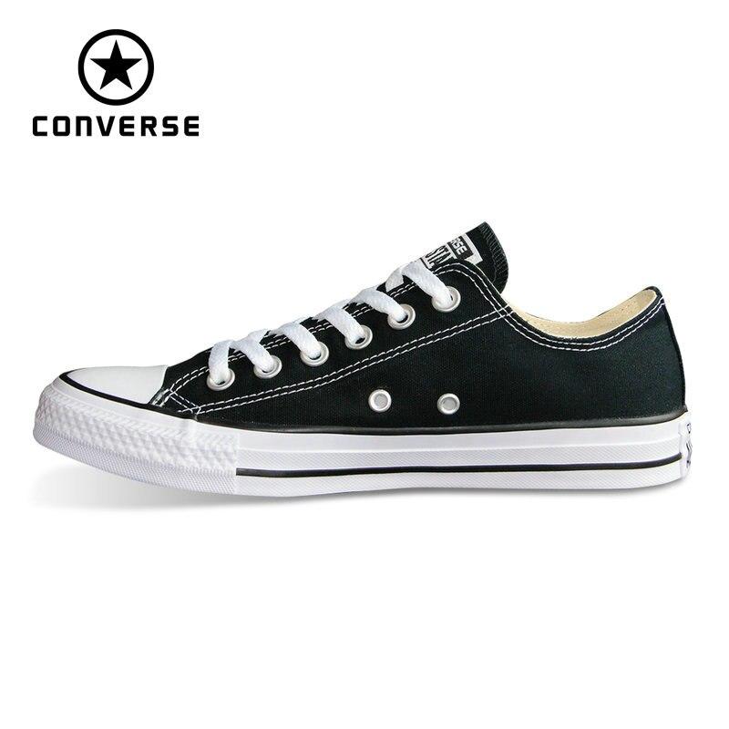 Оригинальные Converse all стильная обувь Chuck Taylor низкий стиль для мужчин и женщин Мужская классическая обувь для скейтборда, кроссовки 101001