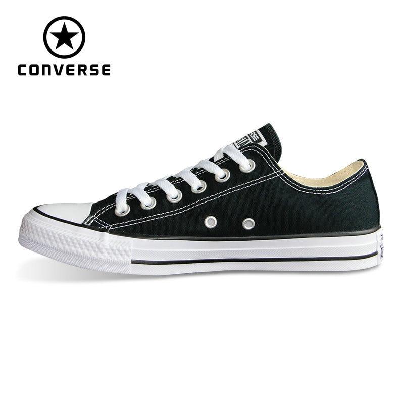 Chaussures Converse toutes étoiles originales Chuck Taylor style bas baskets homme et femme unisexe classique chaussures de skate 101001